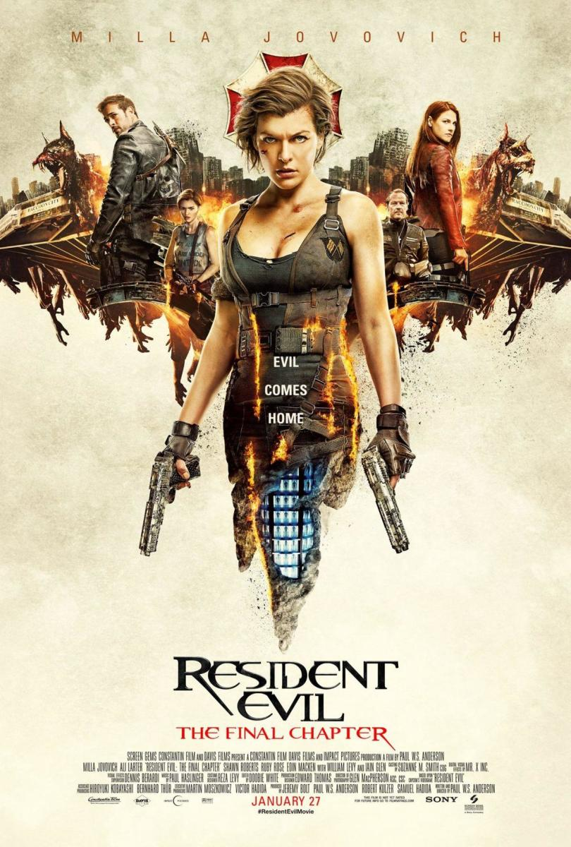 """Resident Evil - The Final Chapter"": Movie Review"