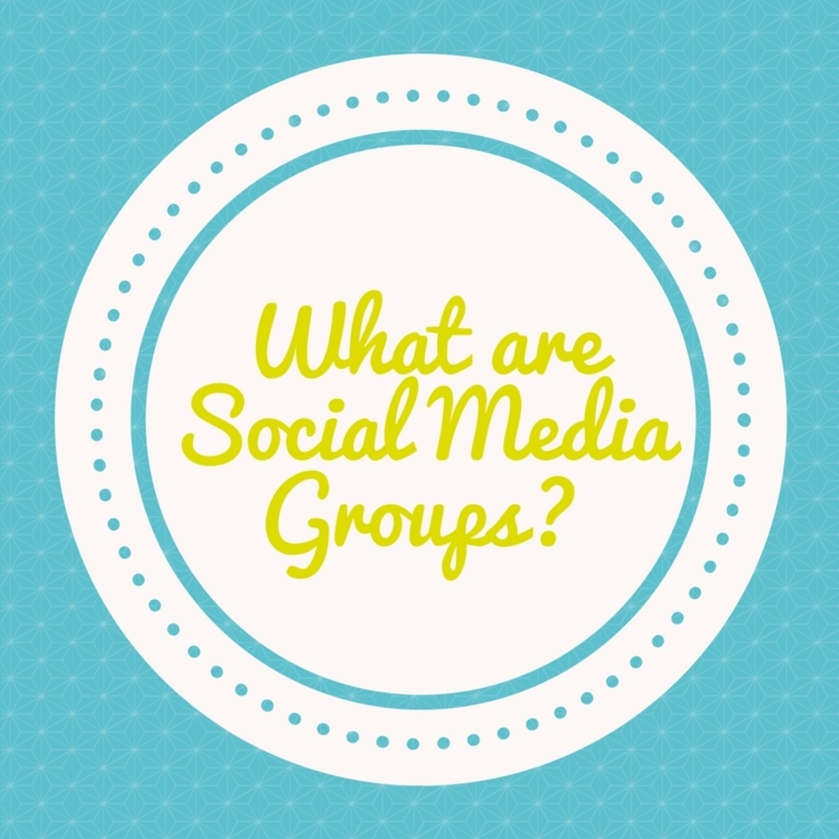 What are Social Media Groups?
