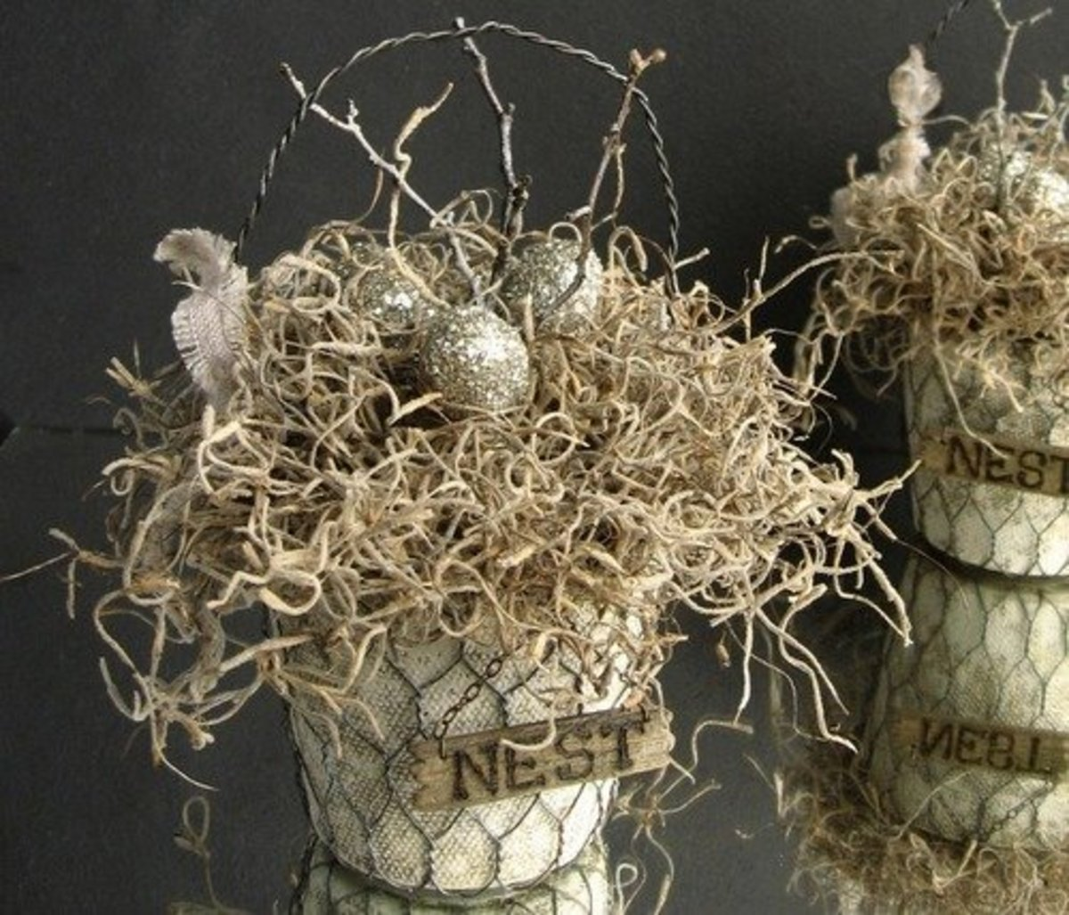 40 Rustic Chicken Wire Craft Ideas Feltmagnet
