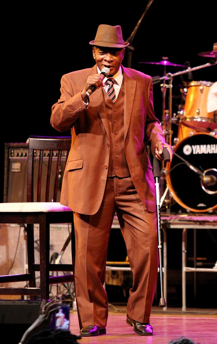 Calypso King of the World: The Mighty Sparrow performing at age 79 (2014). Photo by Hayden Roger Celestin