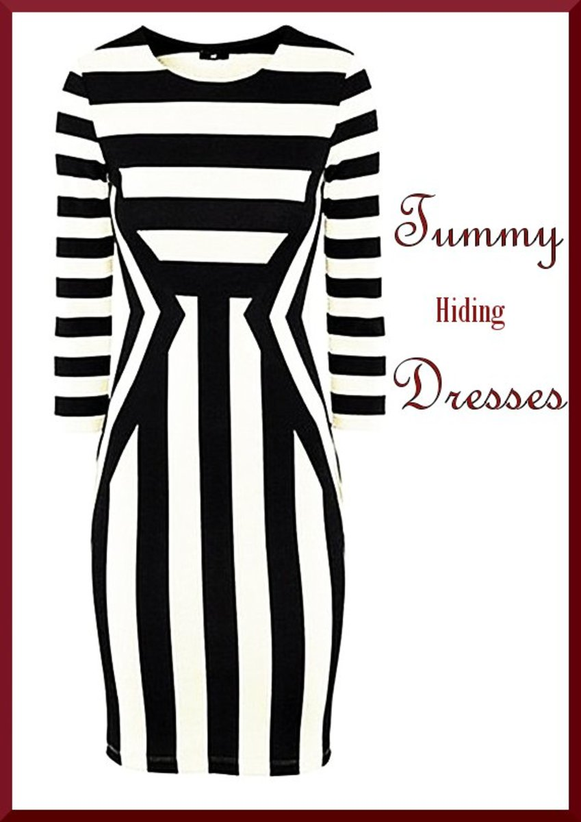 4 Dresses That Hide the Tummy
