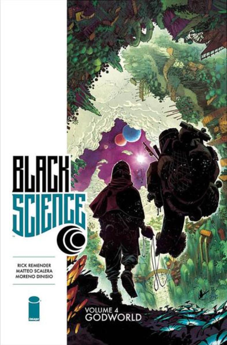 Cover of Black Science, vol. 4 art by Matteo Scalera