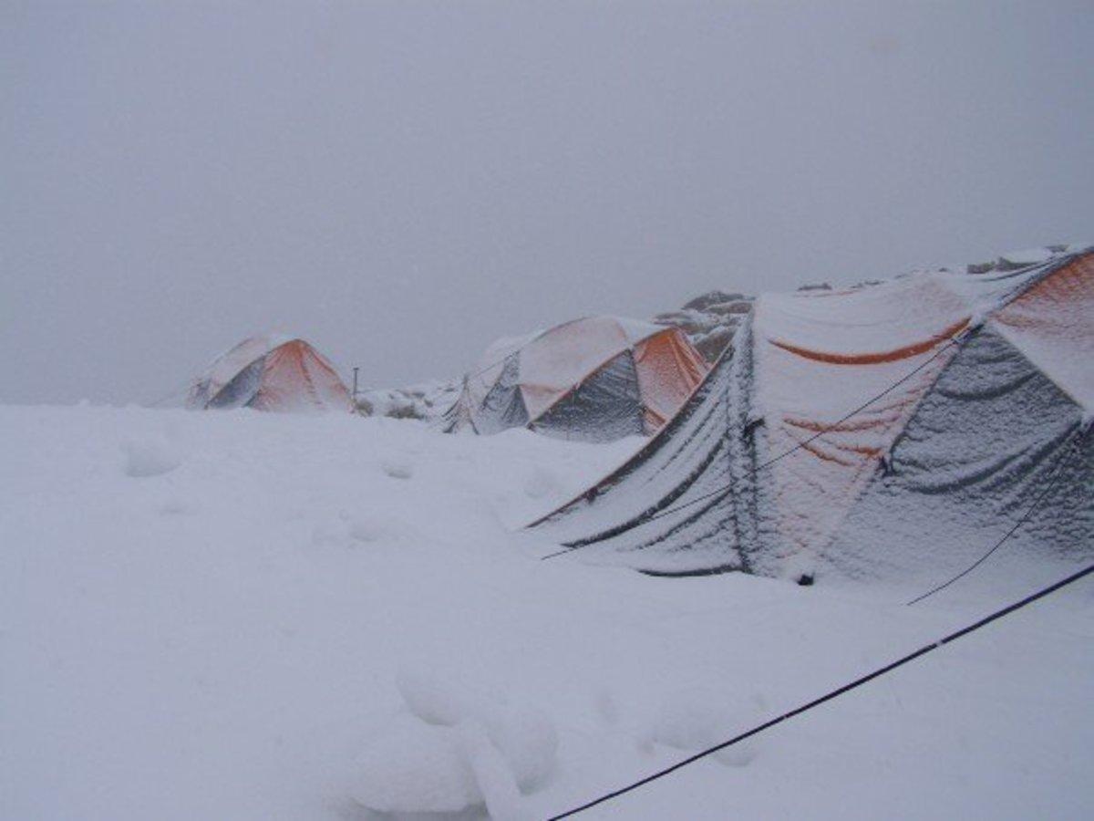 Before a summit bid in Patagonia