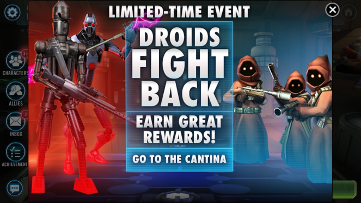 Star Wars Galaxy of Heroes: Droids Fight Back Tips