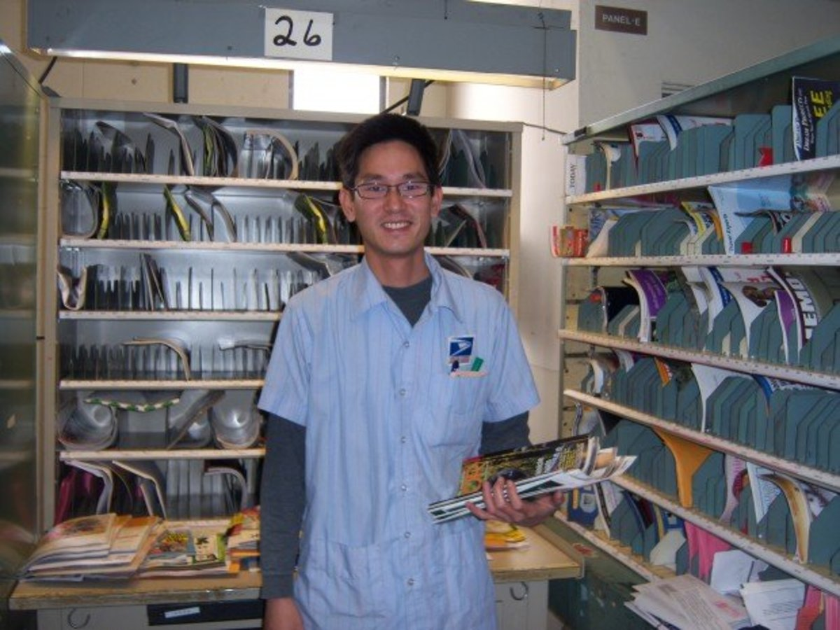 In memoriam for a departed brother: Oceanside letter carrier Eddie Lin did not kick a dog.  He did die trying to avoid one.
