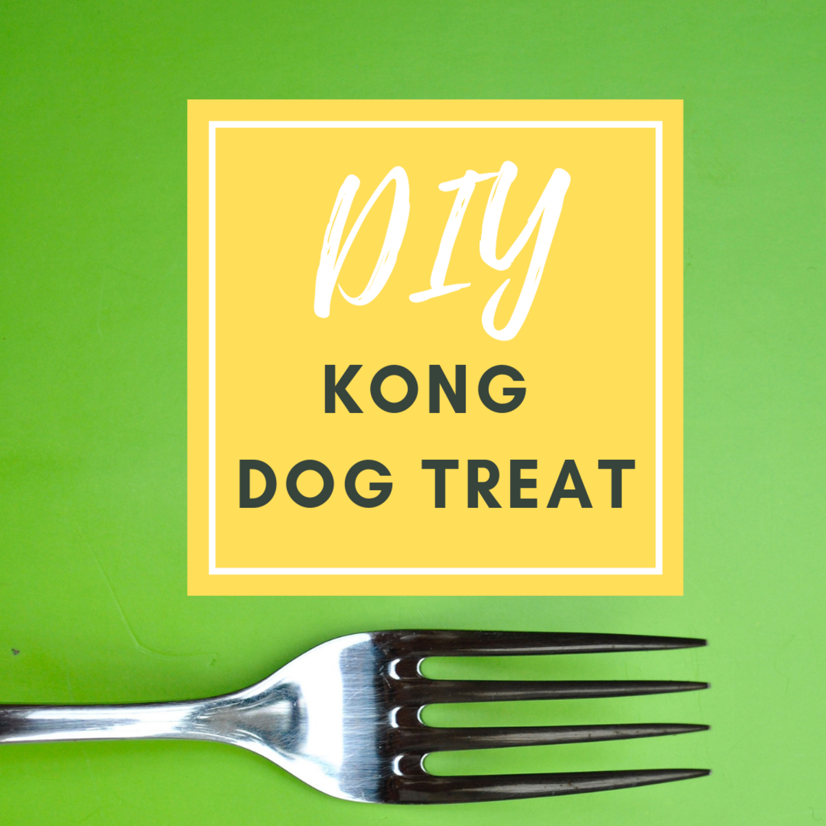 DIY KONG Filling for Dogs: Peanut Butter, Banana and Coconut Oil