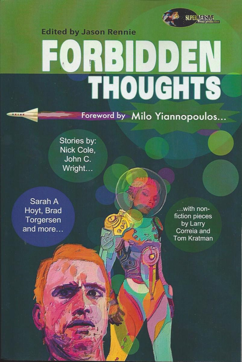 "Cover of the book ""Forbidden Thoughts"""