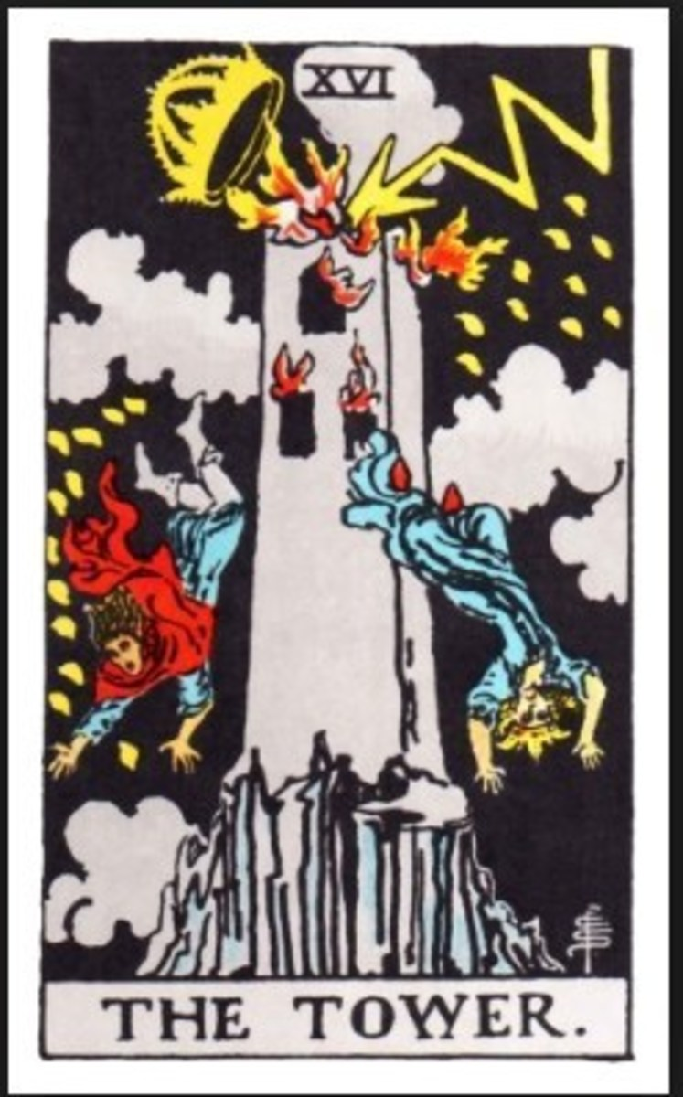 The card of upheaval, emergencies, destruction and everything unexpected...