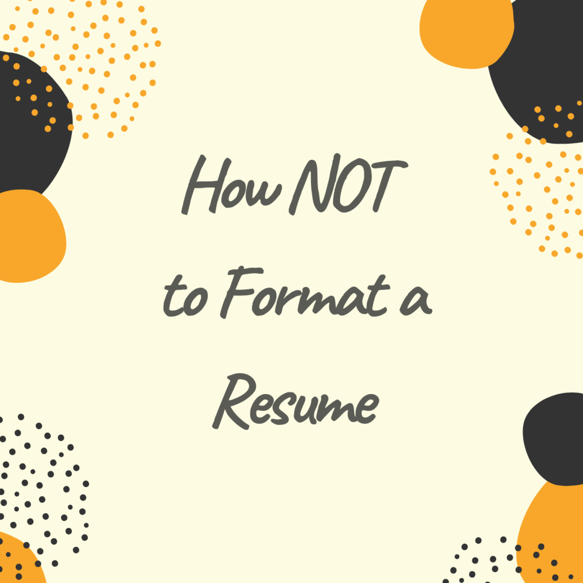 Common Resume Formatting Mistakes and How to Fix Them