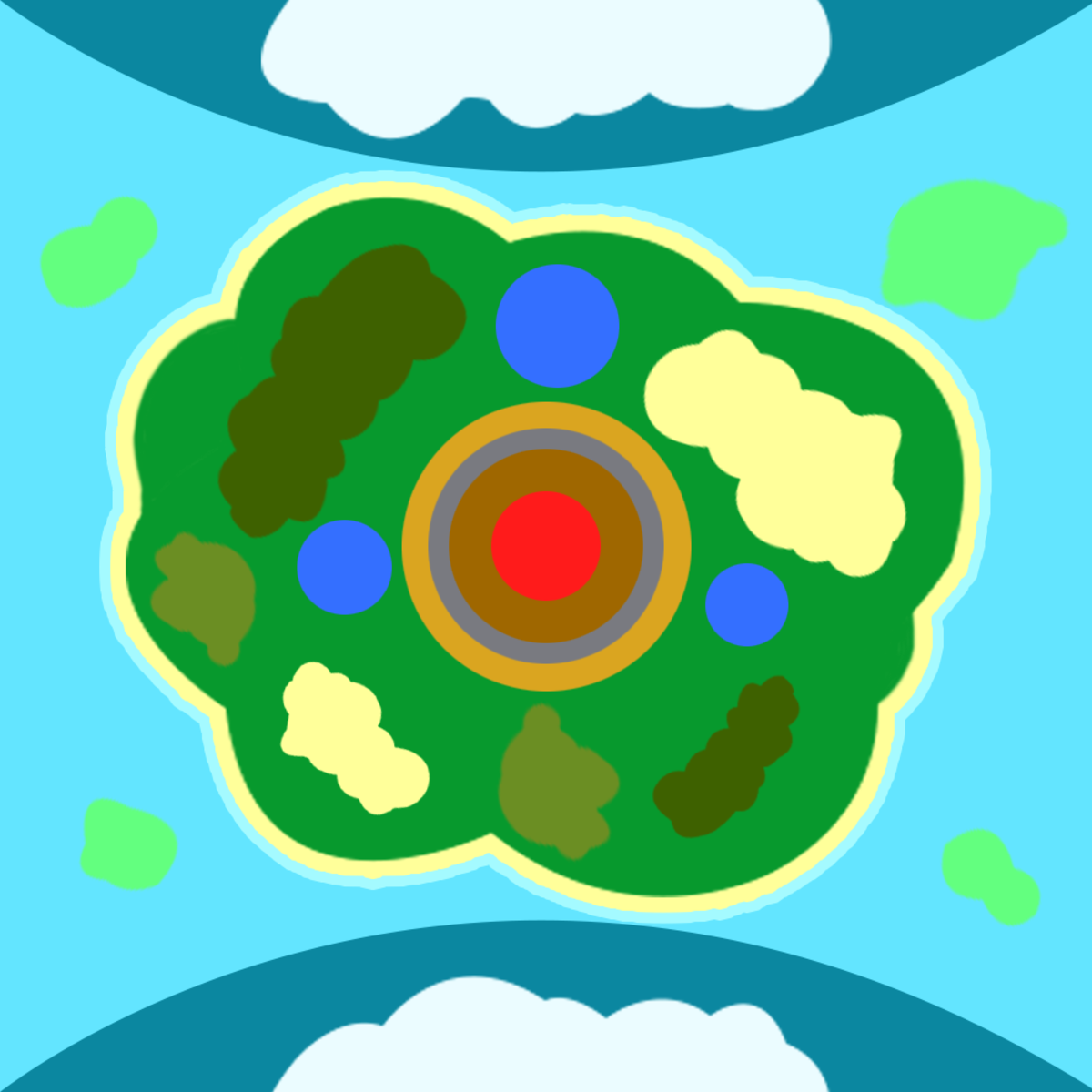 New Jungle Biome and Jungle Animals for Mope.io
