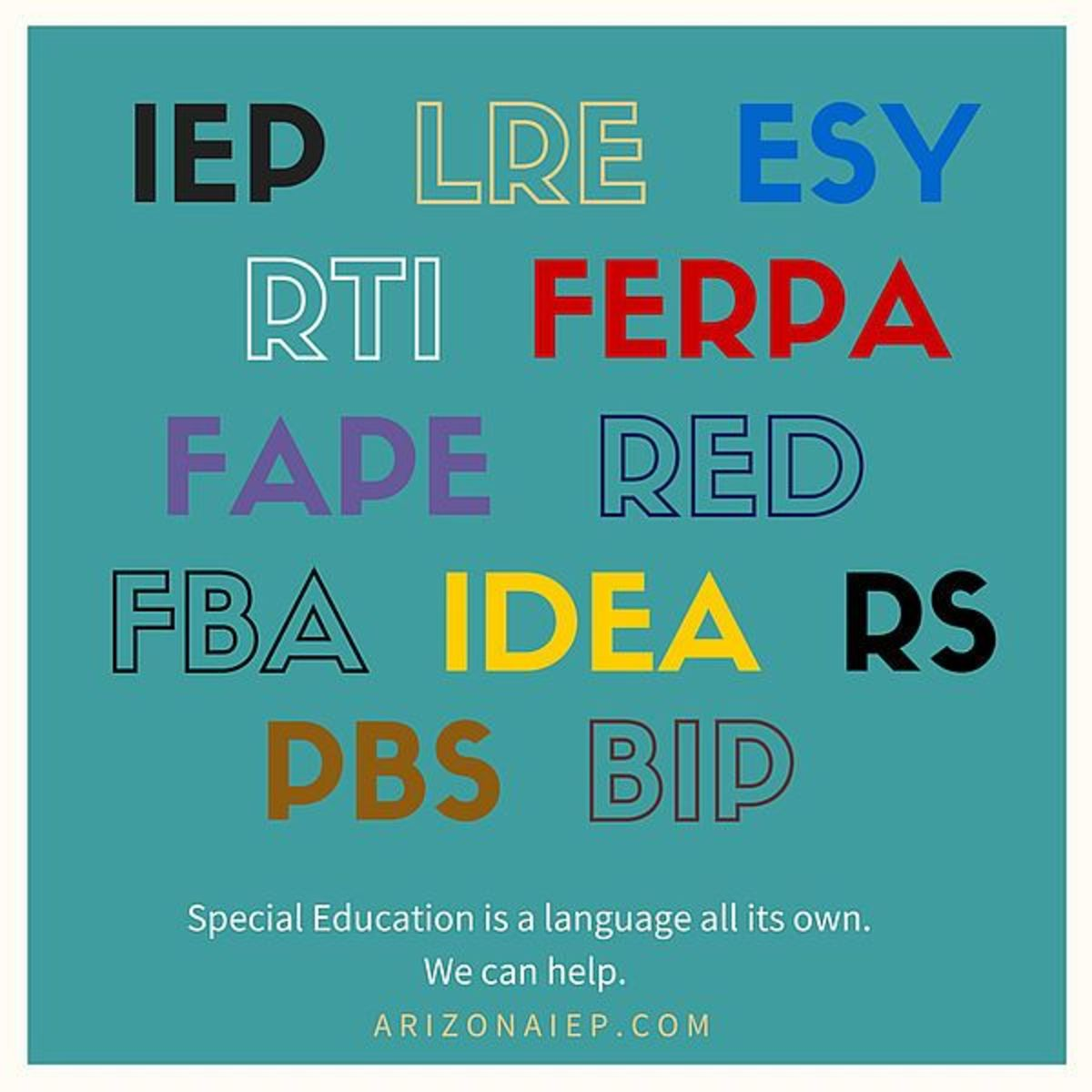 Unraveling the Acronyms: Meanings Behind Special Education Terminology