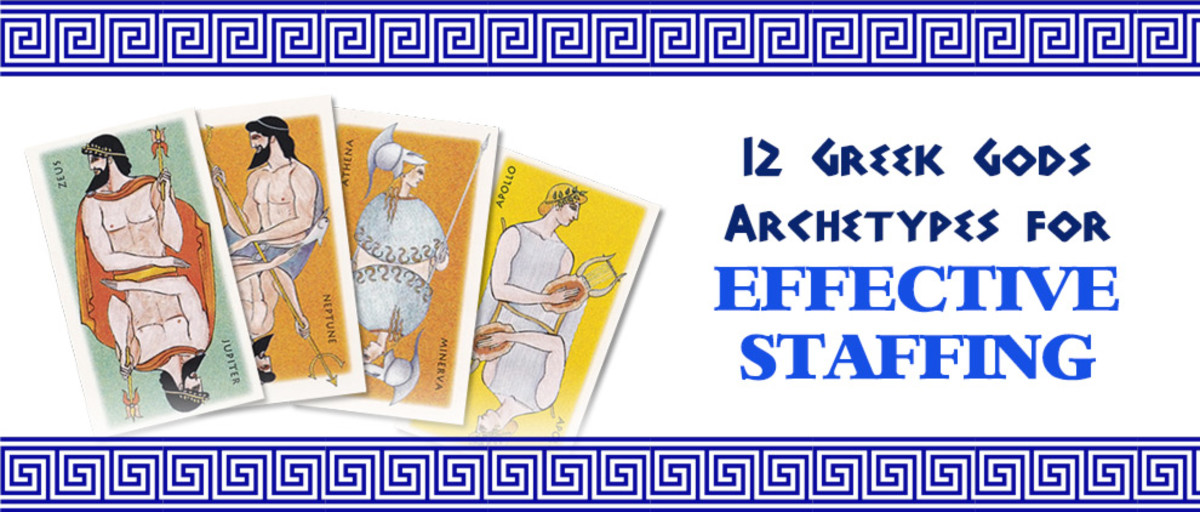 12 Greek Gods Archetypes for Effective Staffing