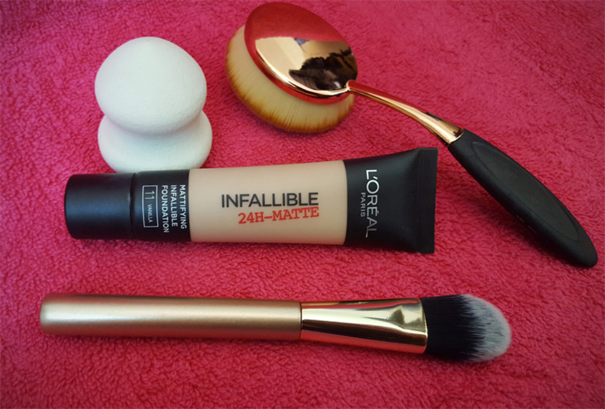 L'Oreal Infallible 24hr-Matte Foundation Review
