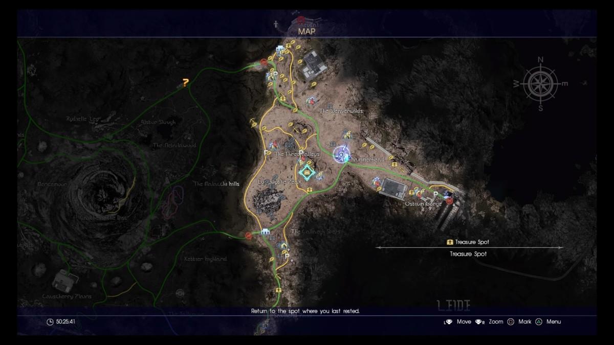 Final Fantasy XV Liede Treasure Locations Including Hidden Ones!