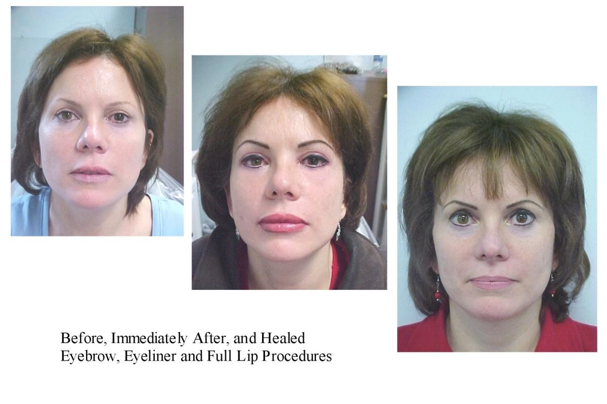 Eyebrow Microblading Natural Looking Permanent Makeup