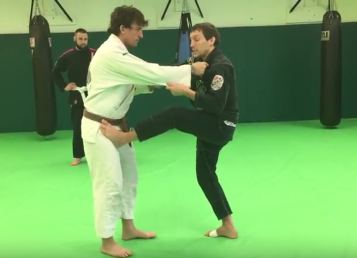 Attacking From the Guard Pull in BJJ