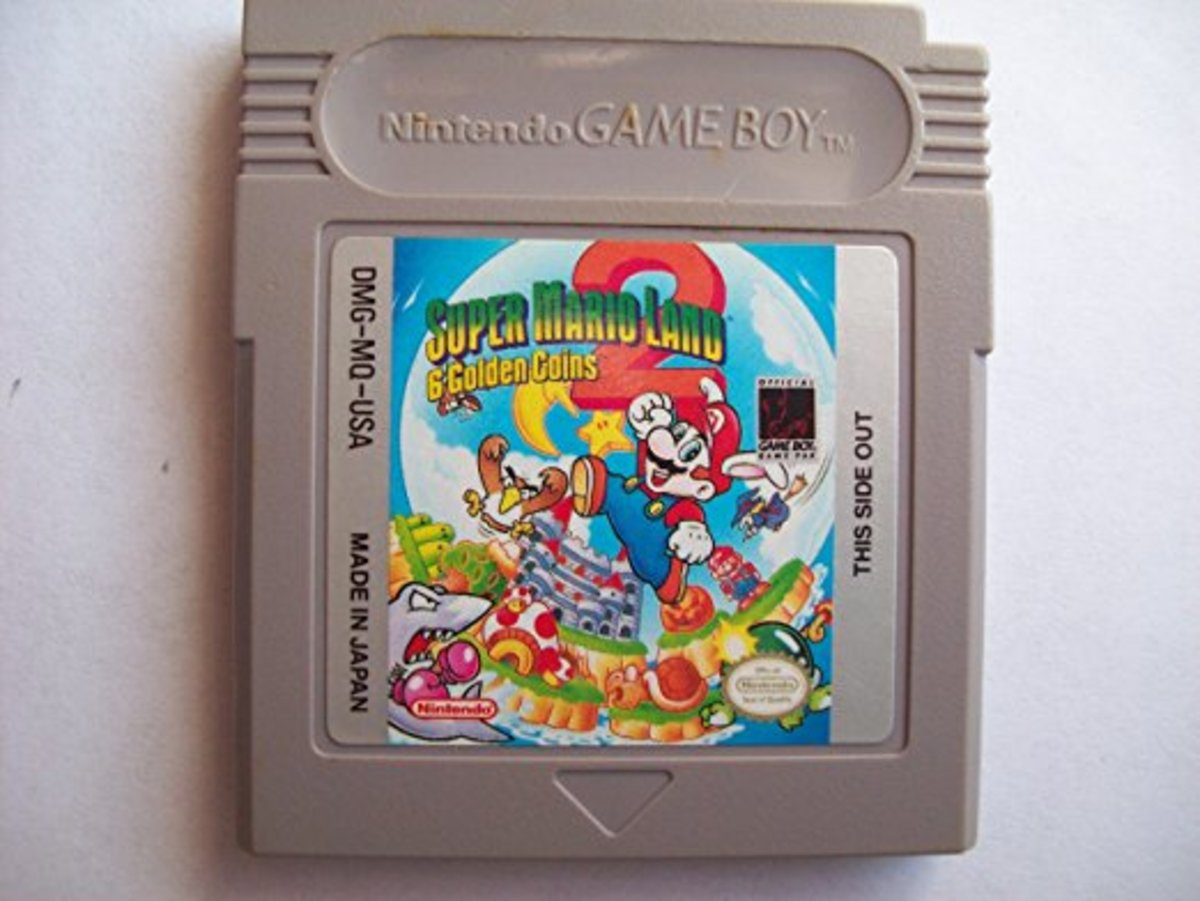 Super Mario Land 2: 6 Golden Coins--A Review
