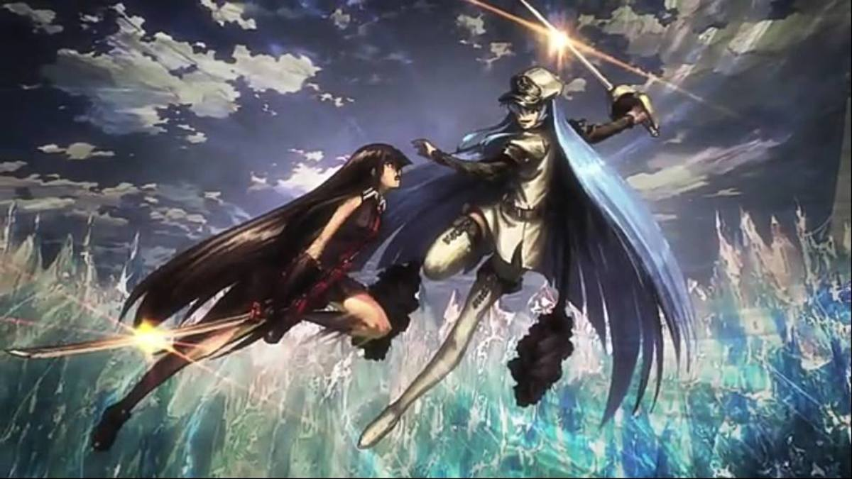 Esdeath vs. Akame in 'Akame ga Kill'.