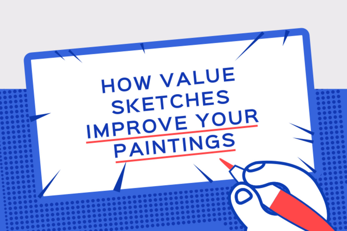 How Making Value Sketches Improves Your Painting Skills