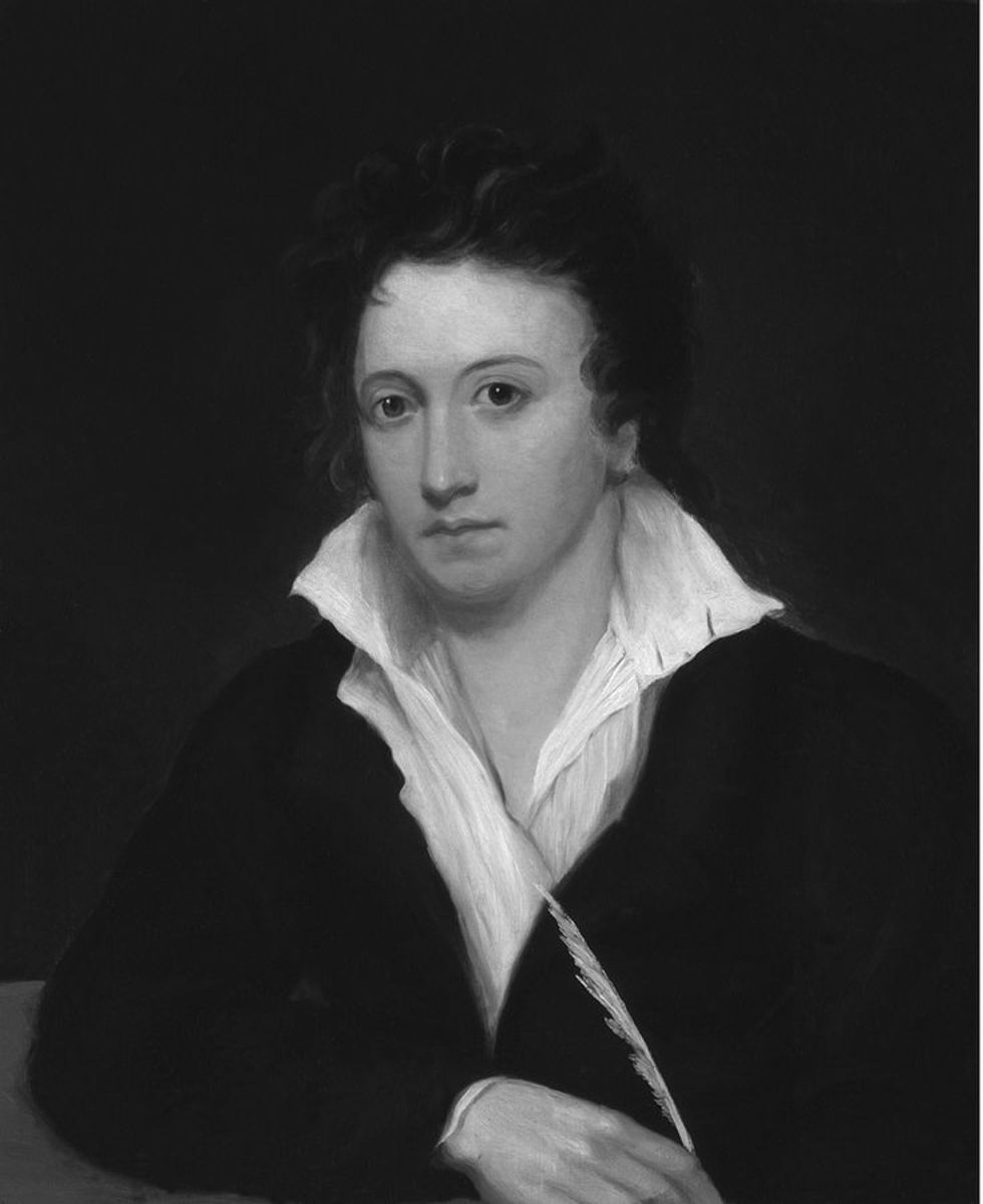 analysis of poem ozymandias by percy bysshe shelley