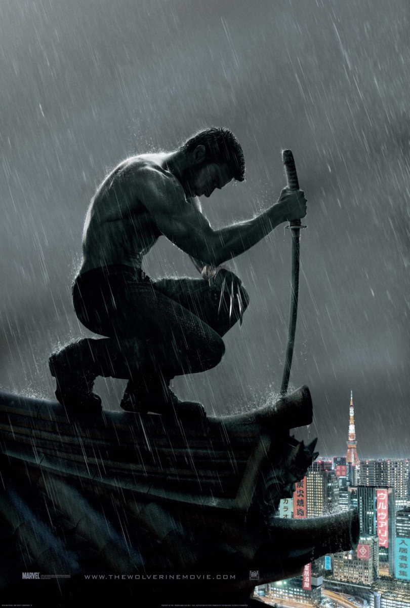 "One of many official theatrical posters for ""The Wolverine."""