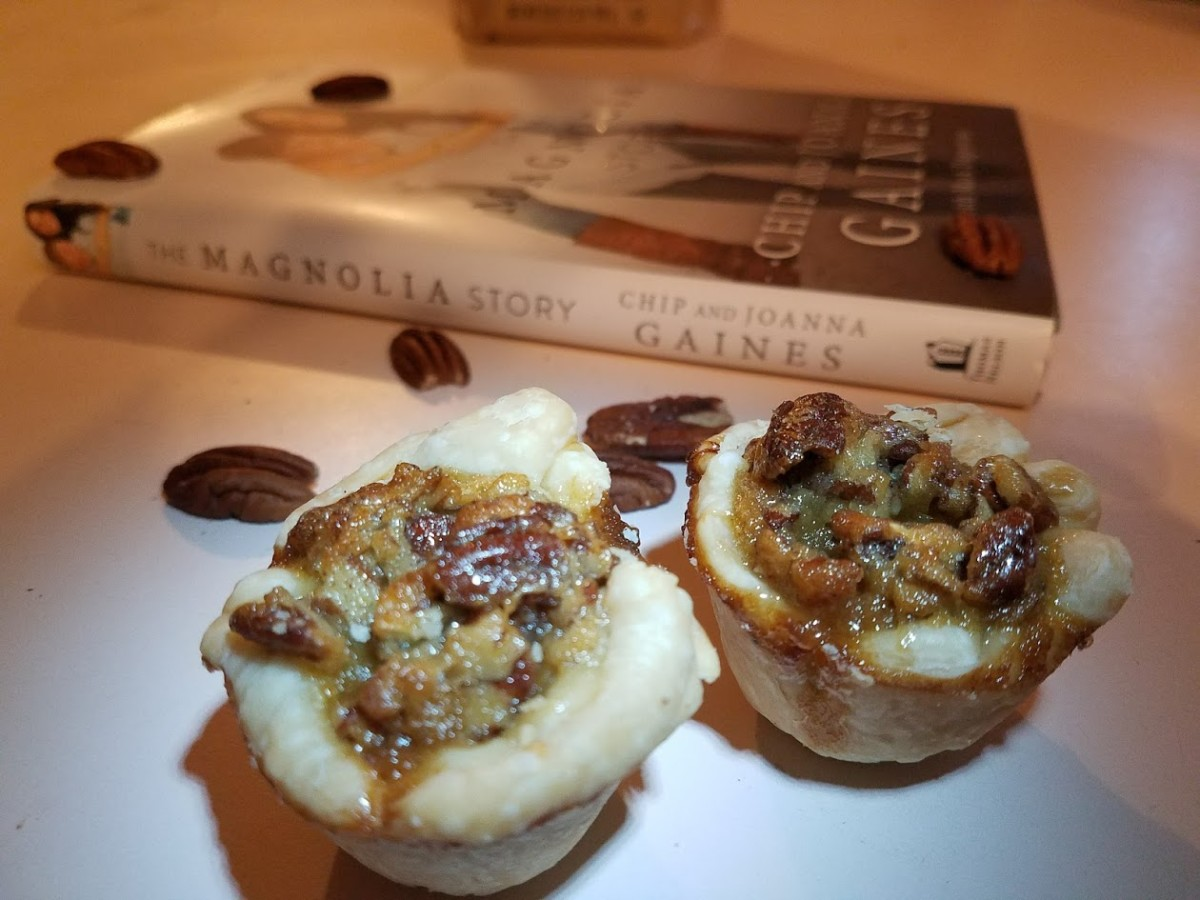 The Magnolia Story Book Review And Easy Pecan Pie Bites Themed