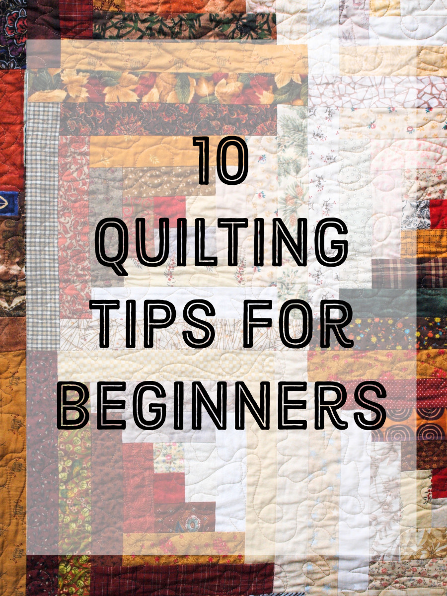 10 quilting tips for beginners, including common problems and how to fix them.