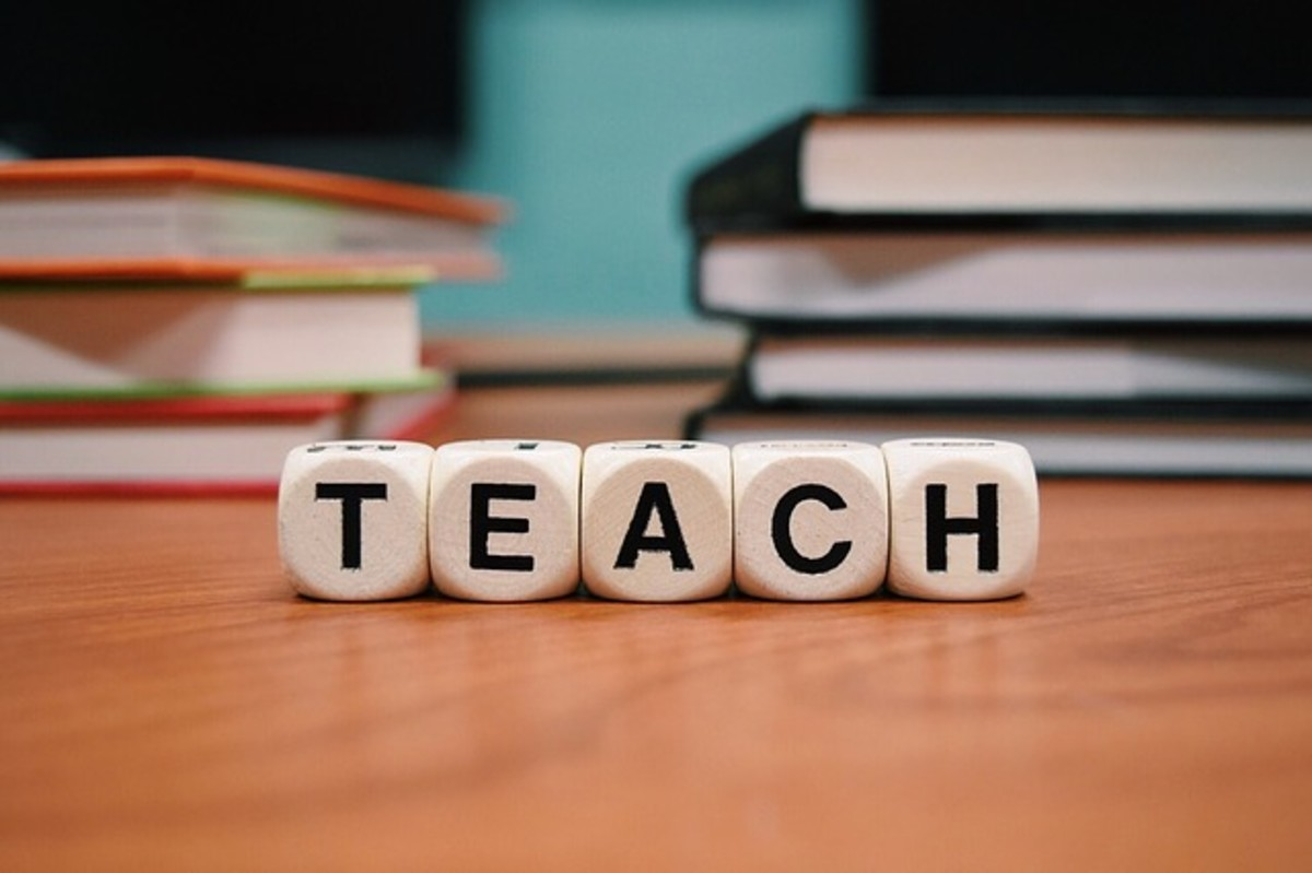 Teaching is a daunting task. Patience, effort and dedication are required to become a good teacher.