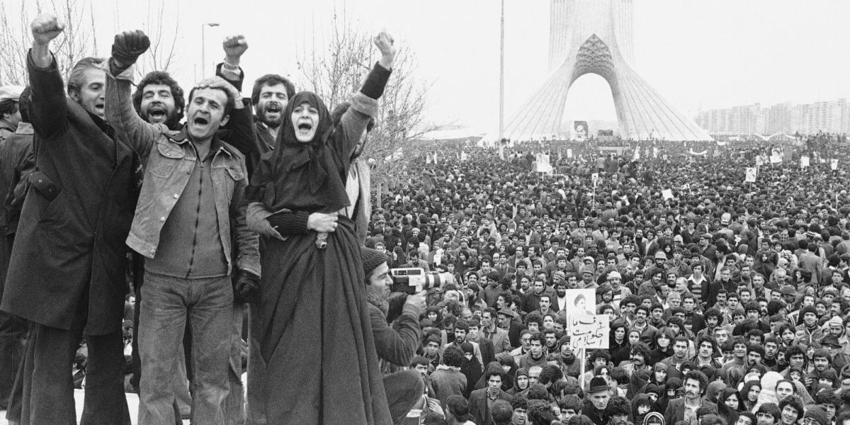 The 1979 Iranian Revolution Protests