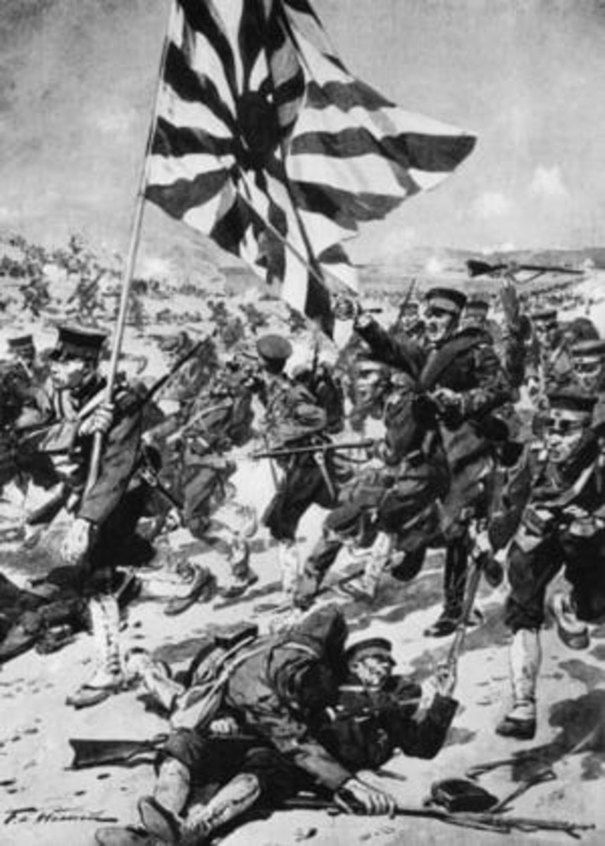 The Russo-Japanese War.