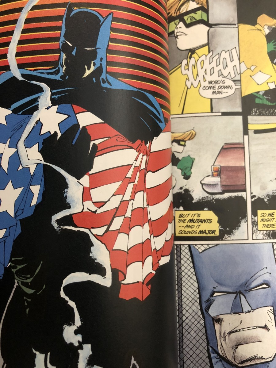 "Strength Comes From Within: Analyzing Frank Miller's Graphic Novel: ""Batman, The Dark Knight Returns"""