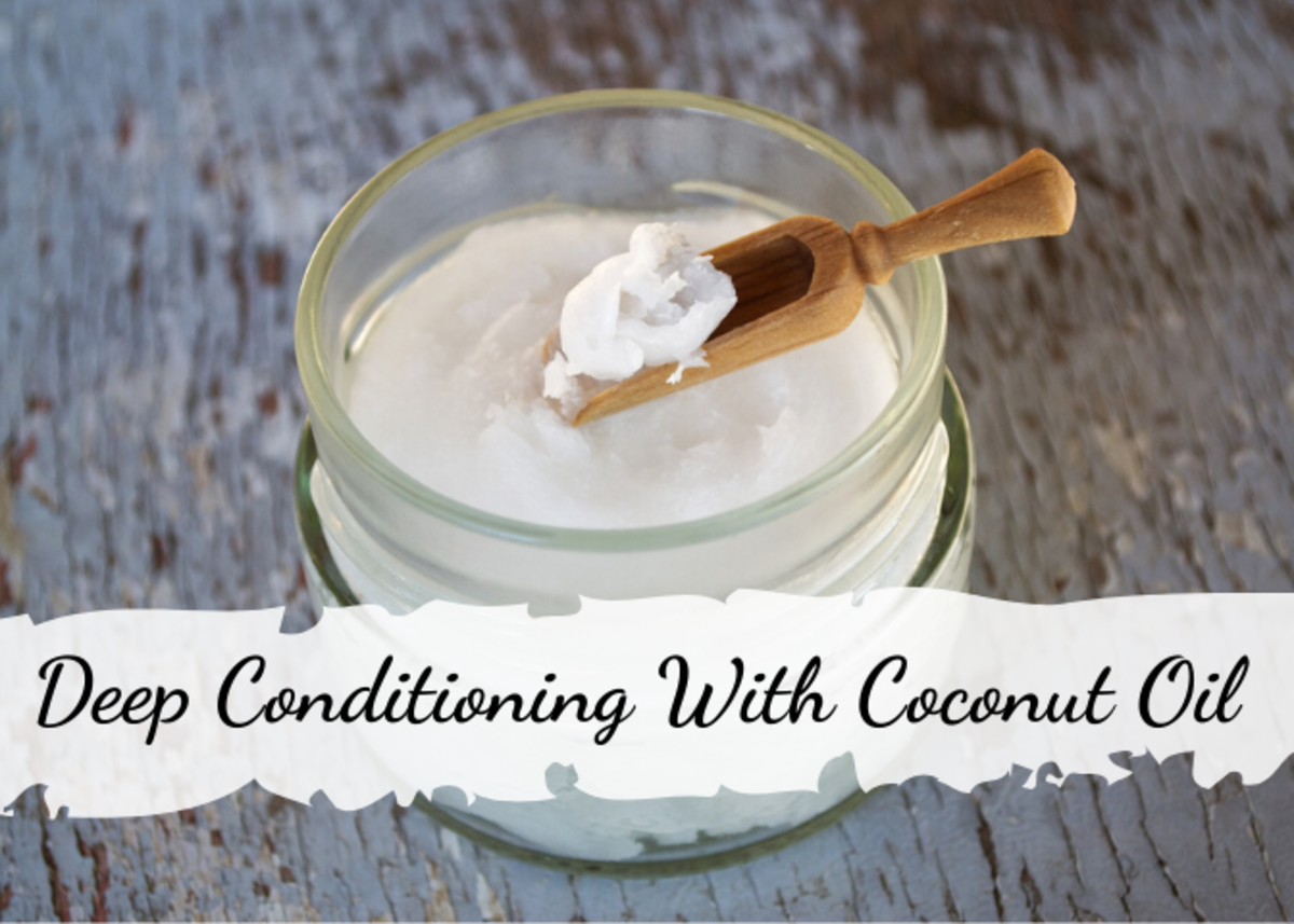 Learn about some of the benefits of coconut oil for your hair and how to use it as a deep conditioner.