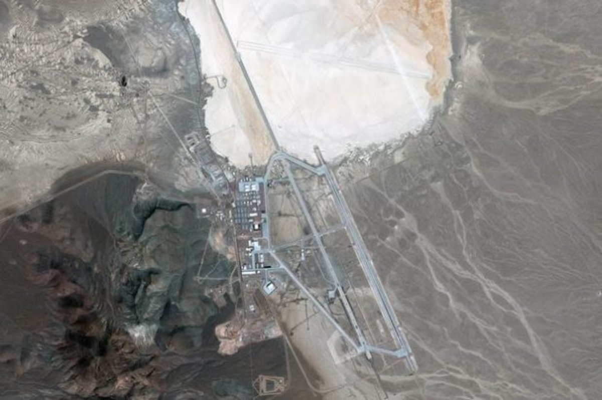 The Not-So Secret History of  Area 51