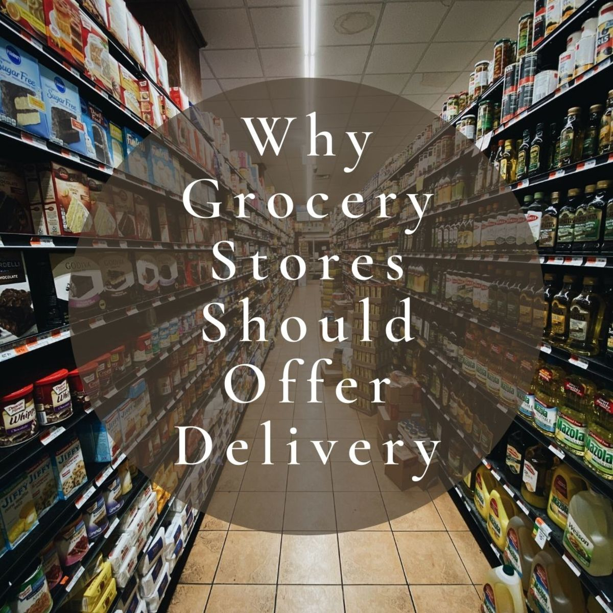 Grocery store delivery services can be really useful to people who are unable to go to the store to shop for themselves.