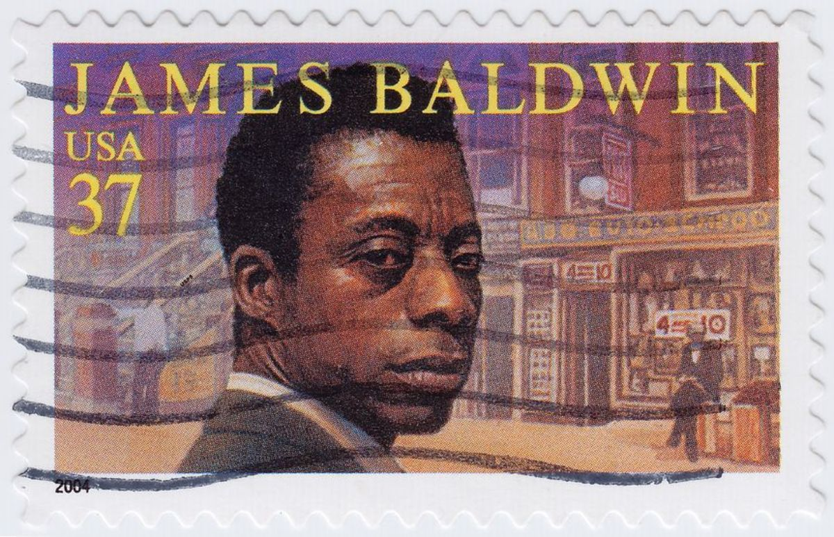 White on Black on White:  On James Baldwin