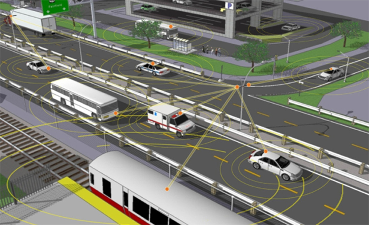 Vehicle-to-Vehicle Communications Are the Next Big Thing in Auto Safety - Photography by NHTSA, Ford, and General