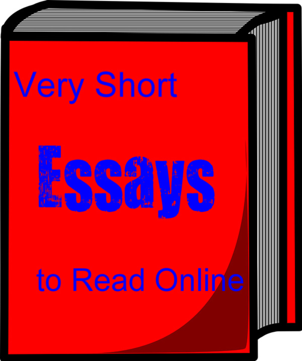 great short essays to read Essays genre: new releases and overlapping with those of an article and a short story almost all modern essays are written in prose best essays/essayists.