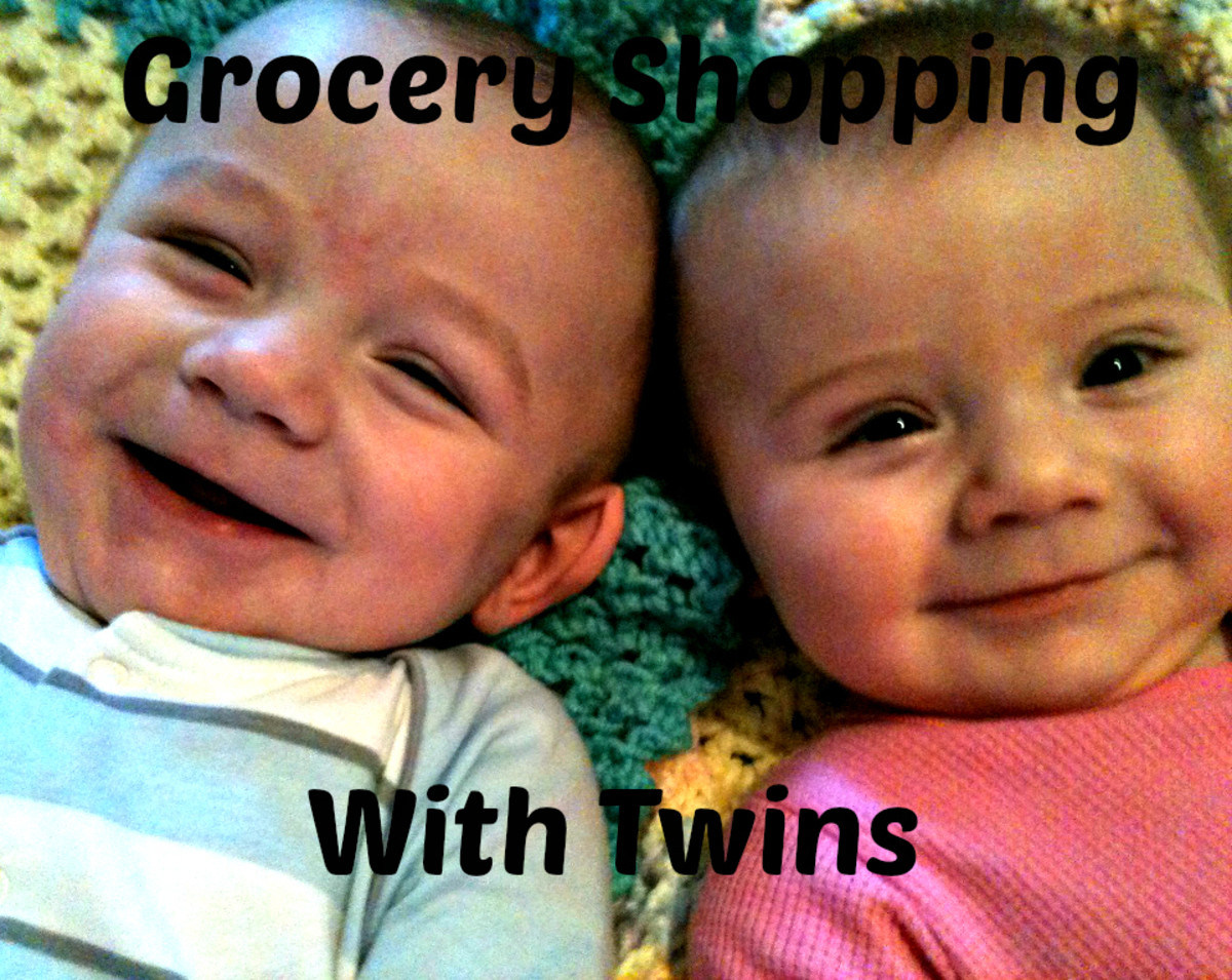 How to Grocery Shop With Twin Babies