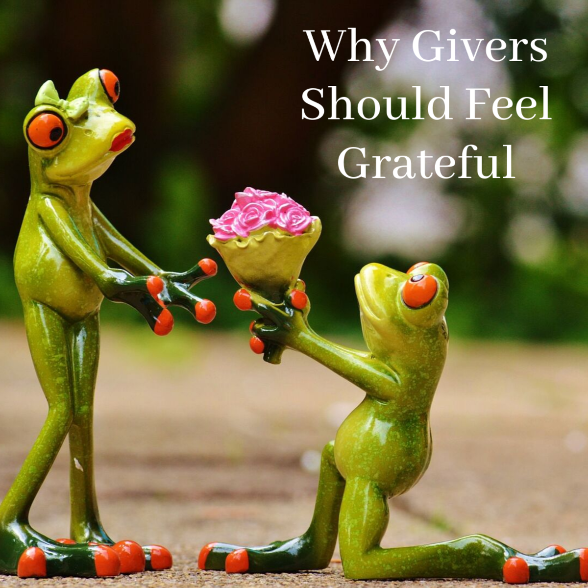 This article lists five reasons why givers should be grateful for the opportunity to help others.