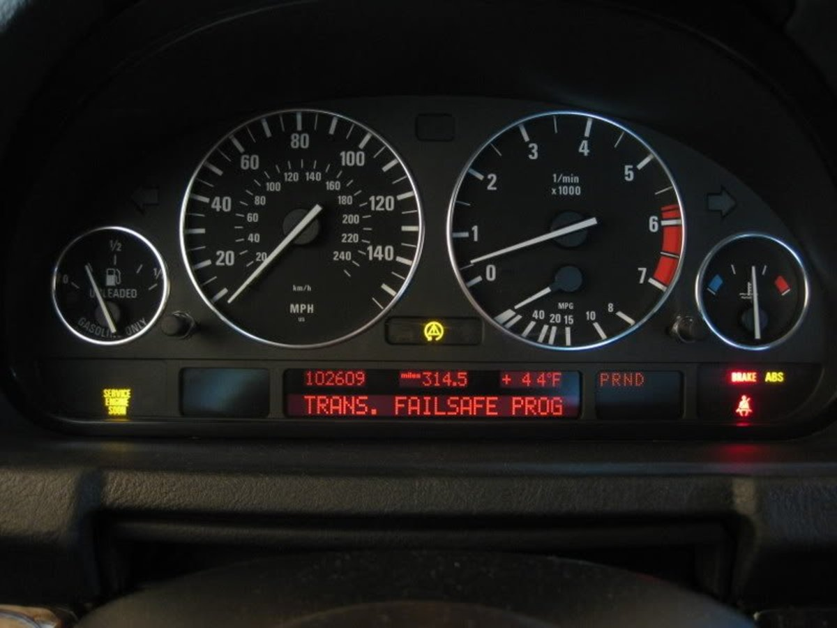Trans. Failsafe Prog on the dash of certain cars often spells a great deal of trouble.