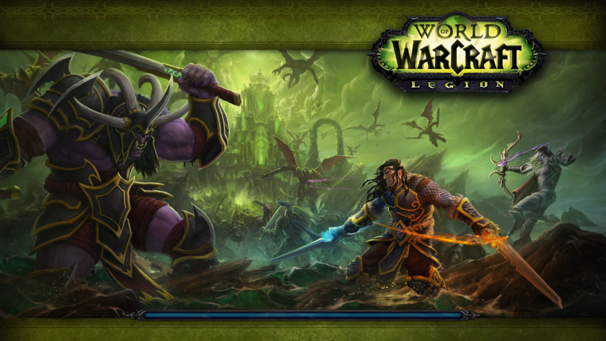 World of Warcraft: Legion. The latest expansion for Blizzard's epic MMORPG.