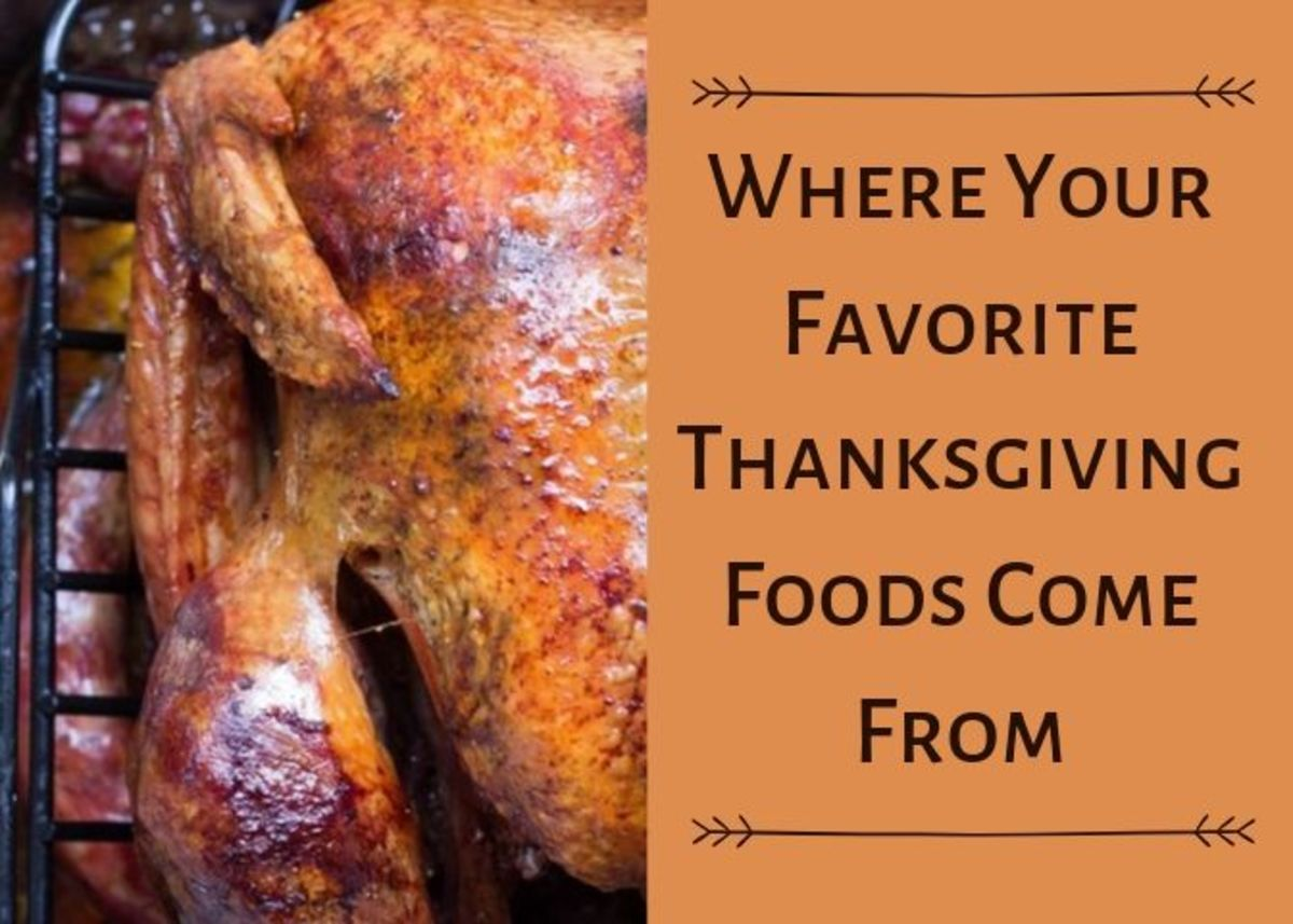 Ever wonder why we eat certain foods at Thanksgiving and where they originate from?