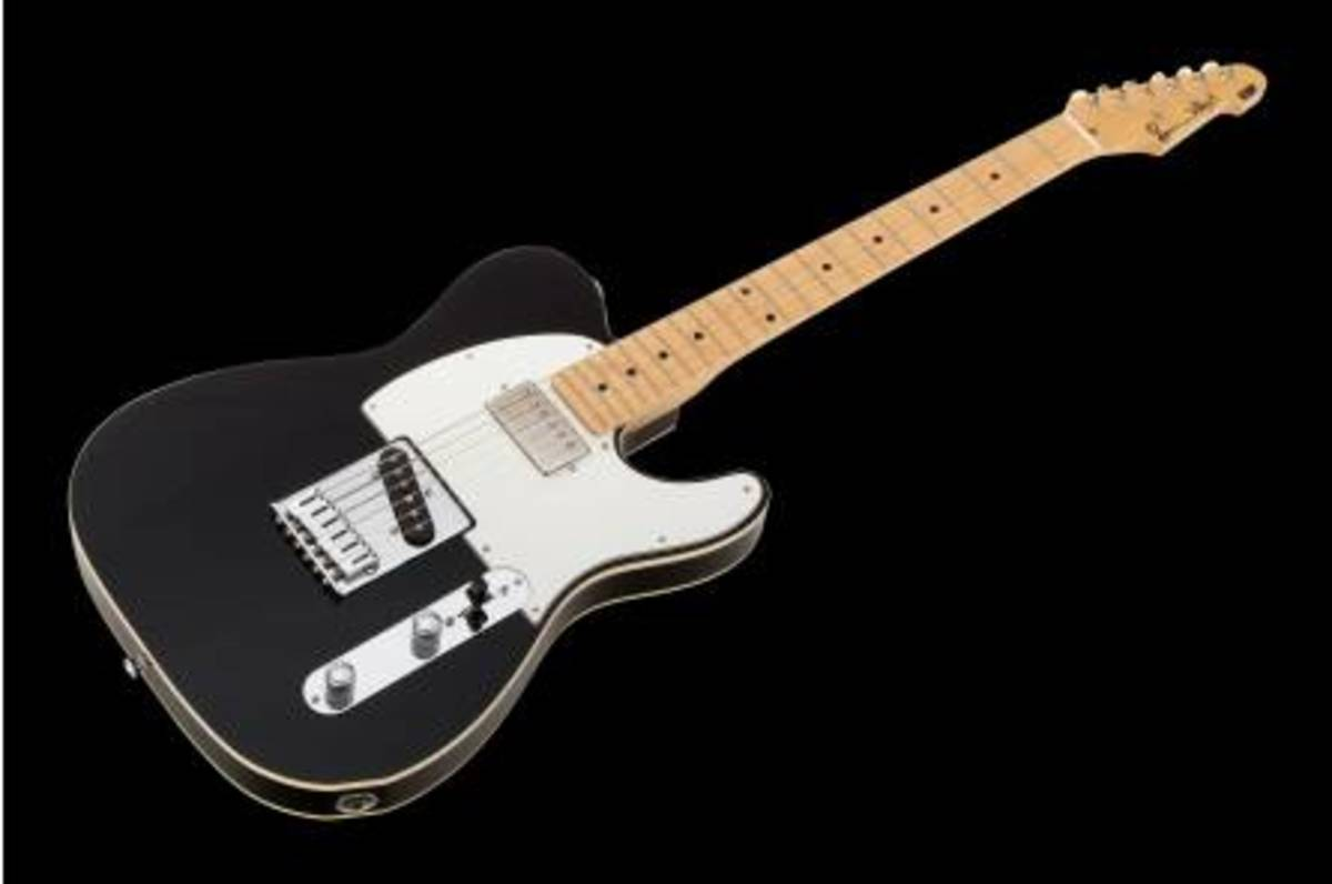 The Best Non Fender Telecaster Style Guitars with Humbucking Pickups