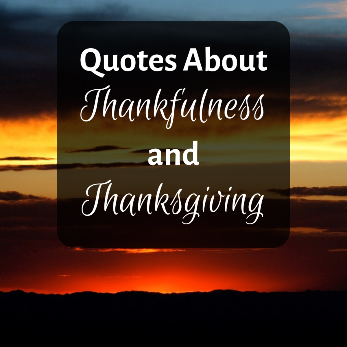 Read through 15 quotes related to gratitude, thankfulness, and thanksgiving.