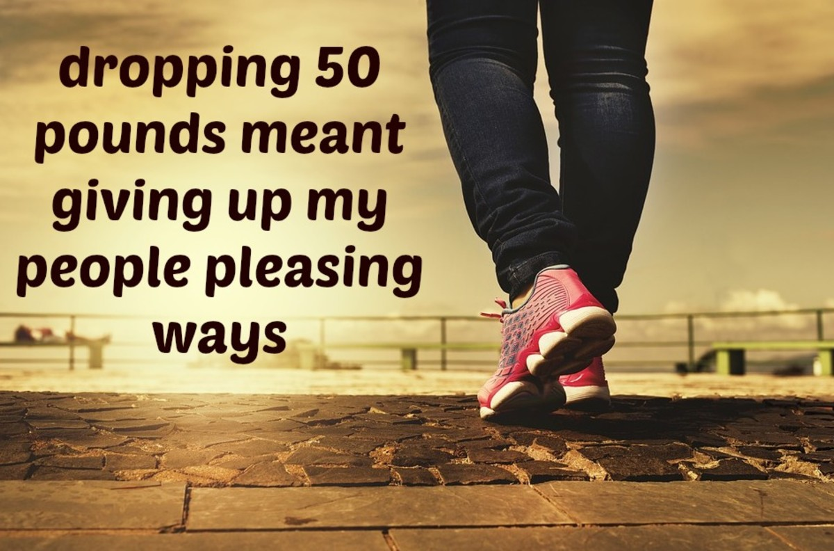 How I Lost 50 Pounds and Kept Them Off by Stopping My People Pleasing Ways