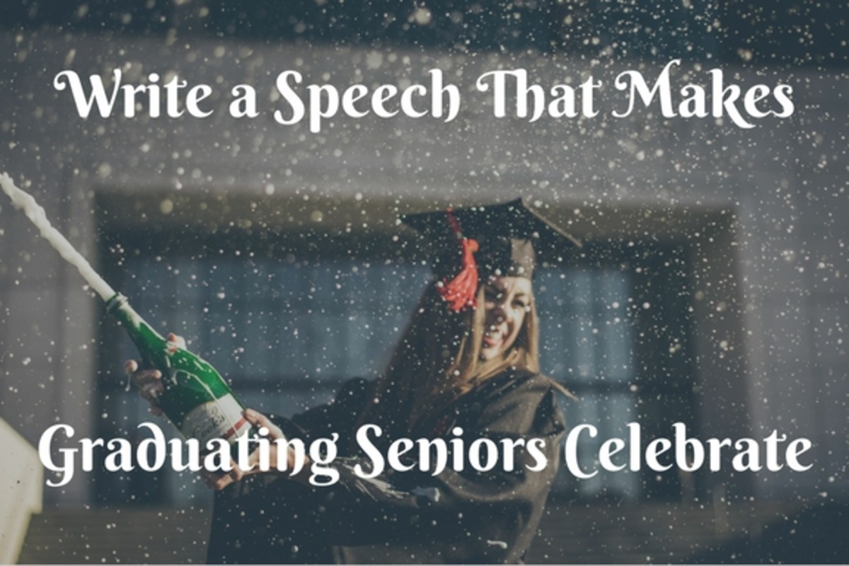 Celebrate the seniors with an awesome farewell speech!