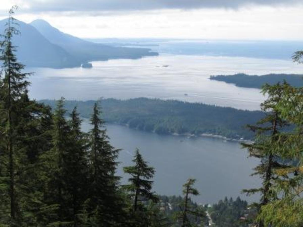 A Day Without Rain:  Hiking Deer Mountain in Ketchikan, Alaska