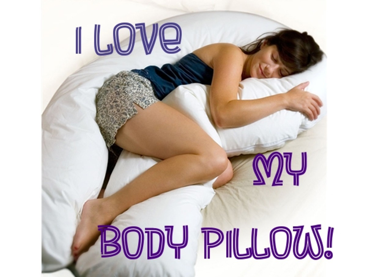 Better Sleep With a Body Pillow