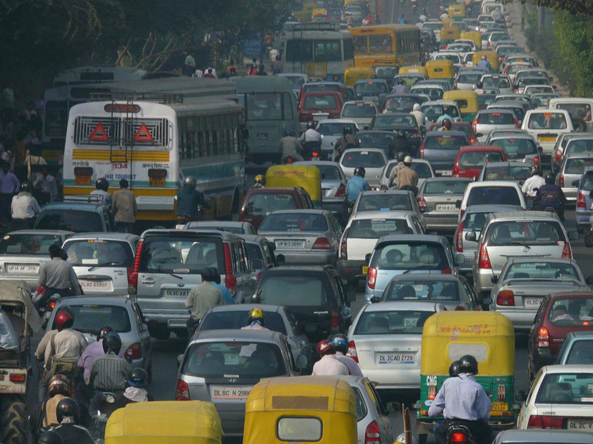 Traffic pollution, Delhi