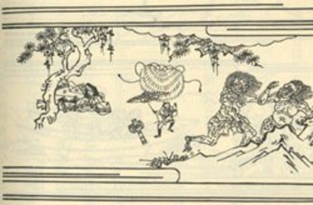 Japanese Folktale: the Tale of Issun Boshi